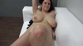 Casting for sexy Czech MILF