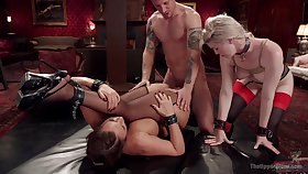 Phoenix Marie increased by Ella Nova are two submissive sluts on a mission