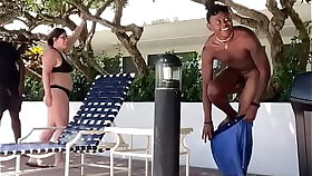White Swingers in Miami  pay my grandpa and I less let his wife suck our black cocks