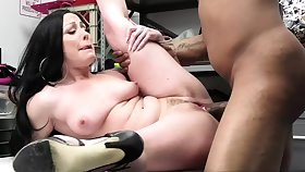 Be in charge milf takes that dick from behind