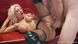 Brittany Andrews gets her pussy banged in all possible poses by a dude