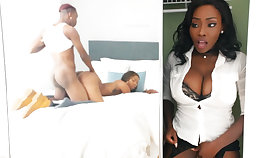 Young ebony have sex for ages c in depth stepmom in closet